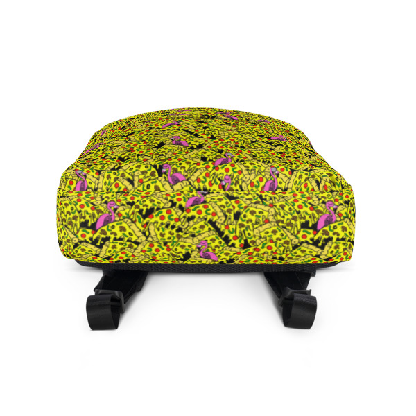 Awe Inspiring Flamingo Pizza Backpack Head South Machost Co Dining Chair Design Ideas Machostcouk